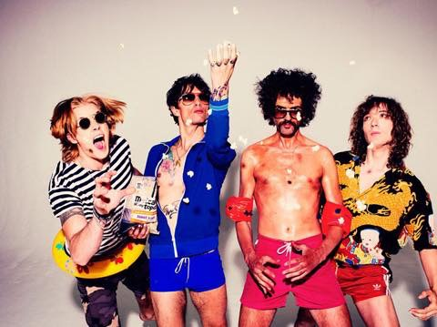 The Darkness are managed by Shooting Star Productions